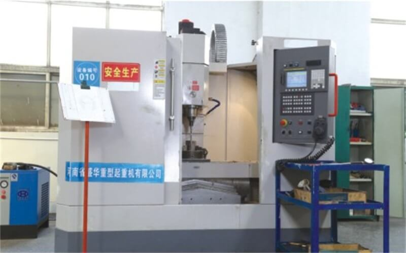 CNC vertical machining center grinder