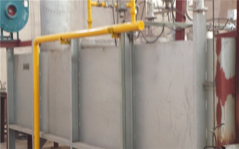 Natural gas heating furnace